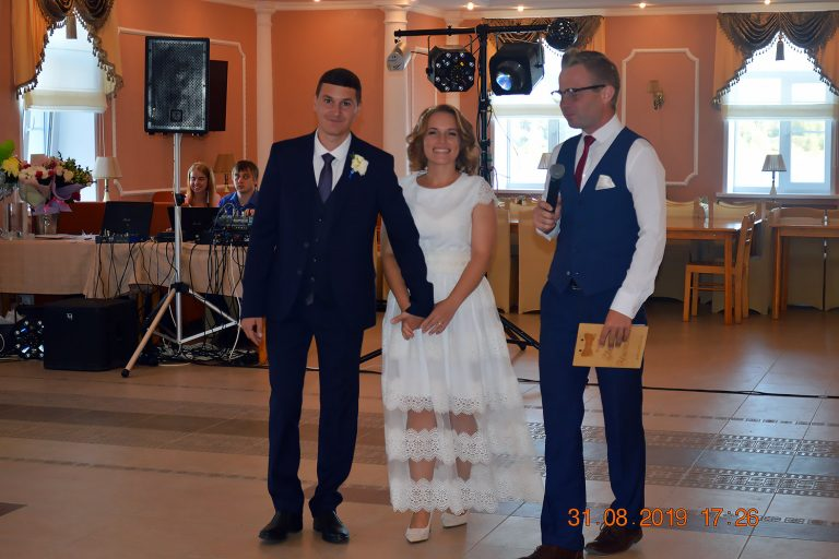 Последняя свадьба этого лета!