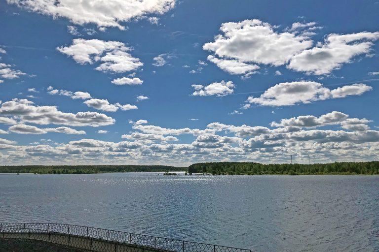 Как течет Волга весной 2020 года